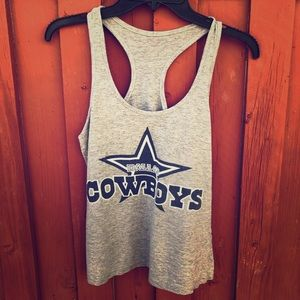 Women's Dallas Cowboys Small Tank Top Football